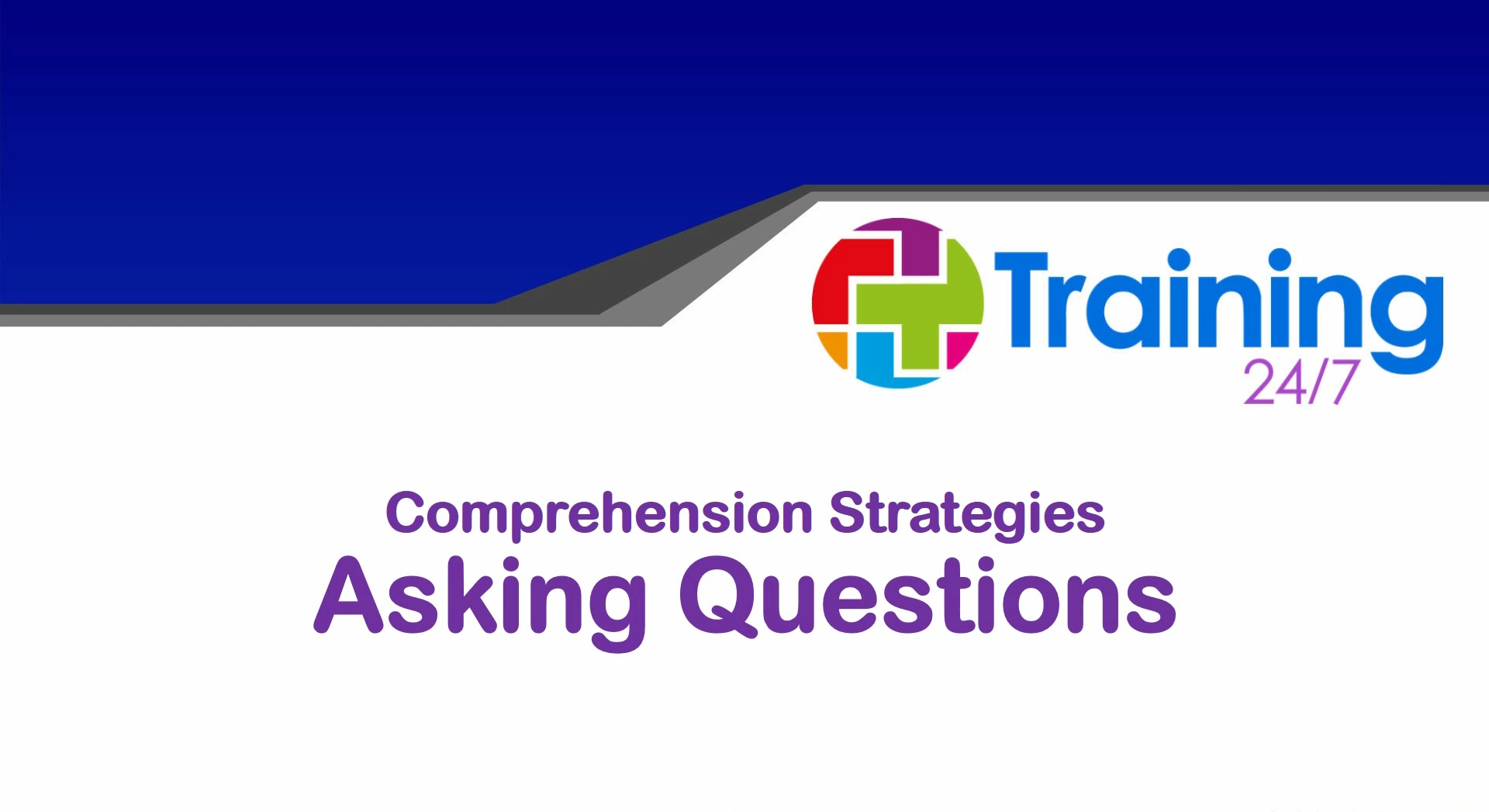 Comprehension Strategies 2 Asking Questions 30 Day Access